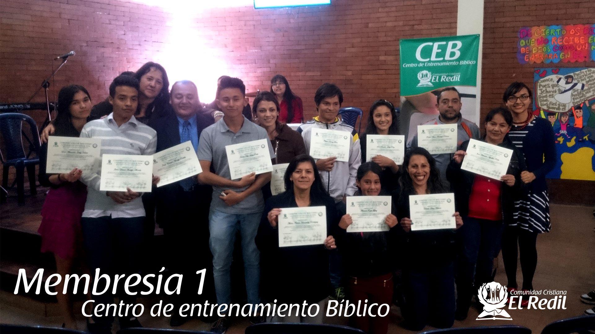 Centro de Entrenamiento Bíblico - Membresía 1